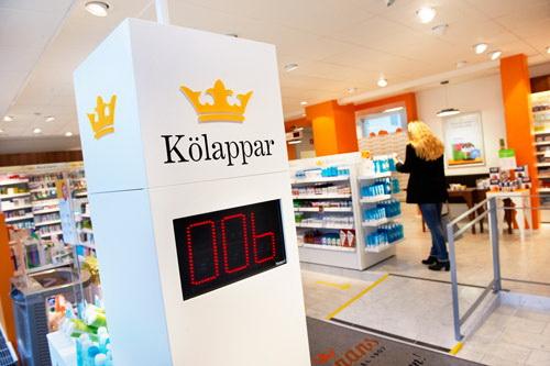 Автомат для получения талончика в аптеке. И никакой очереди!