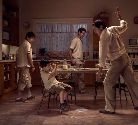 Семейное насилие - наверное самый парадоксальный вариант среди всех видов насилия.