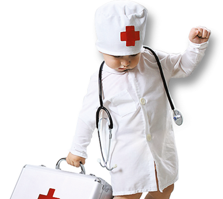 Ребенок из врачебной династии. Врач в семье врачей