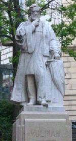 Пам'ятник Альфреда Вульпіана na Rue de l'Ecole de Médecine в Парижі