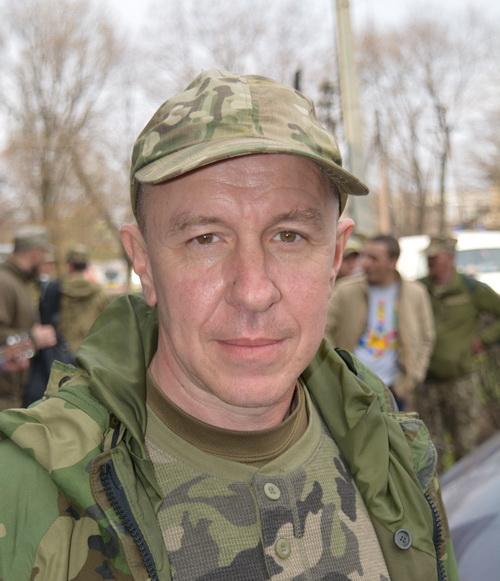 Дмитрий Вернигор, вице-президент Первого добровольного мобильного госпиталя им. Н.Пирогова