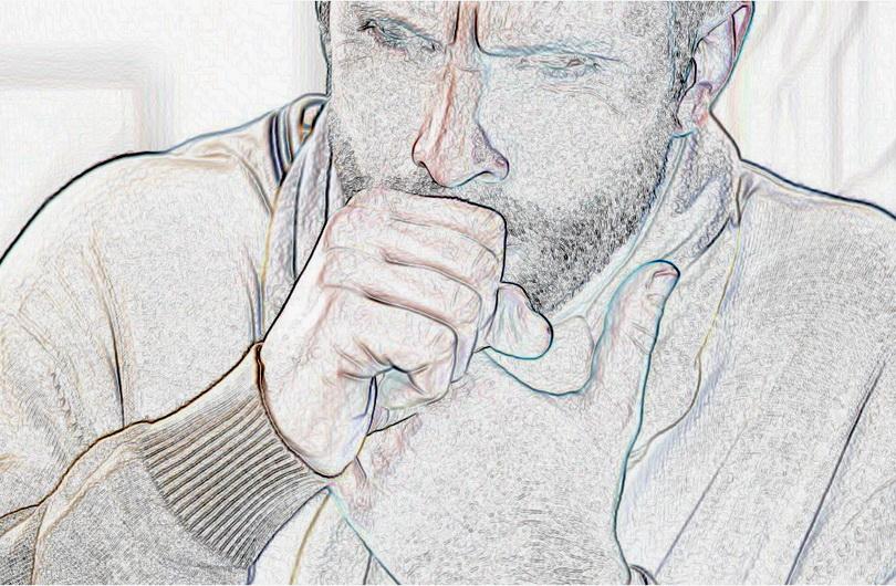 мужчина кашляет от туберкулеза_медпросвита