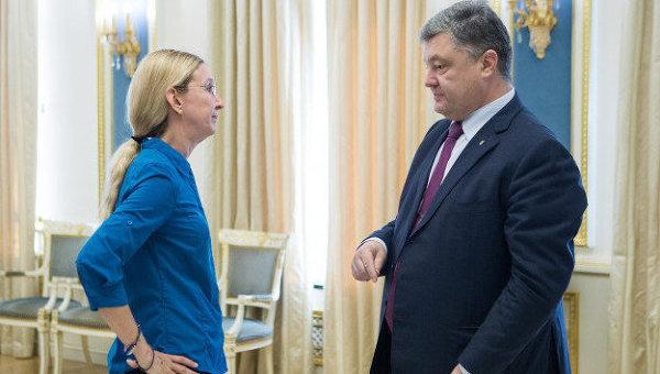 супрун и порошенко_медпросвита