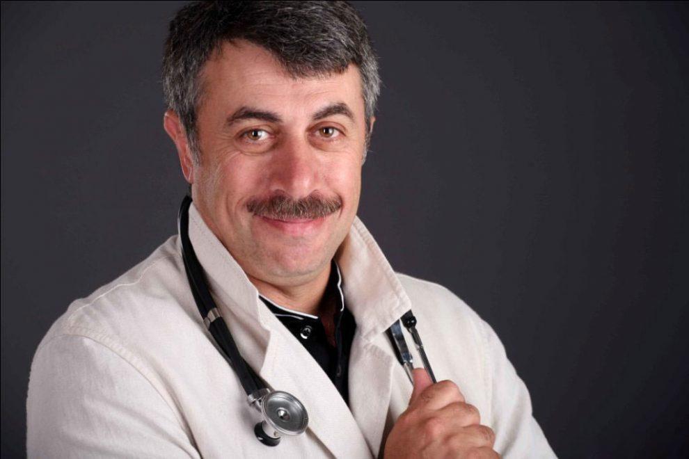 Головний телевізійний лікар Євгеній Комаровський_медпросвіта