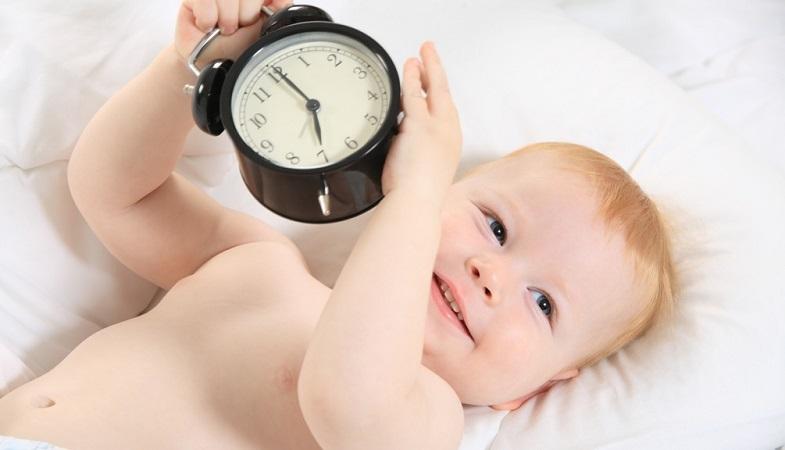 Как сделать режим новорождённому 494
